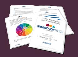 Communication Styles 2.0 Assessment Sample Report